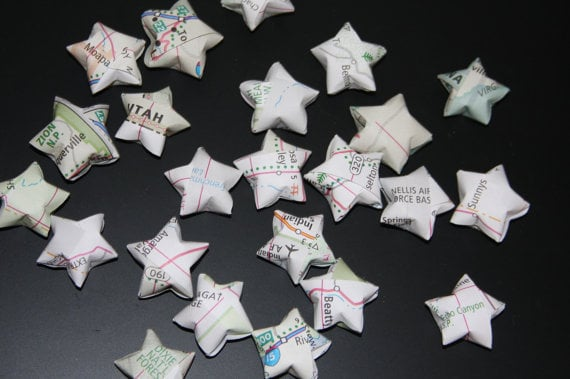 Map Origami Star