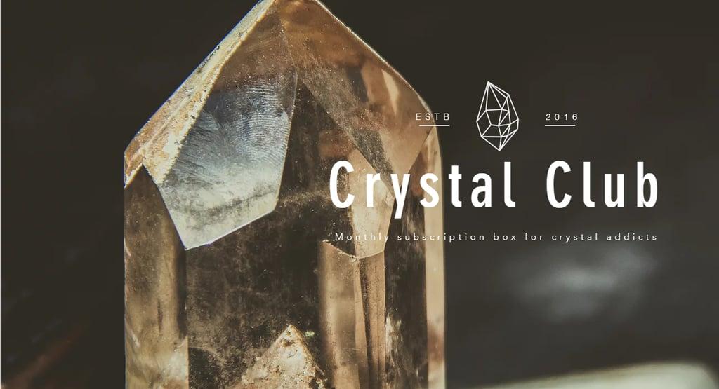 Crystal Club Crystal and Spirituality Subscription Box