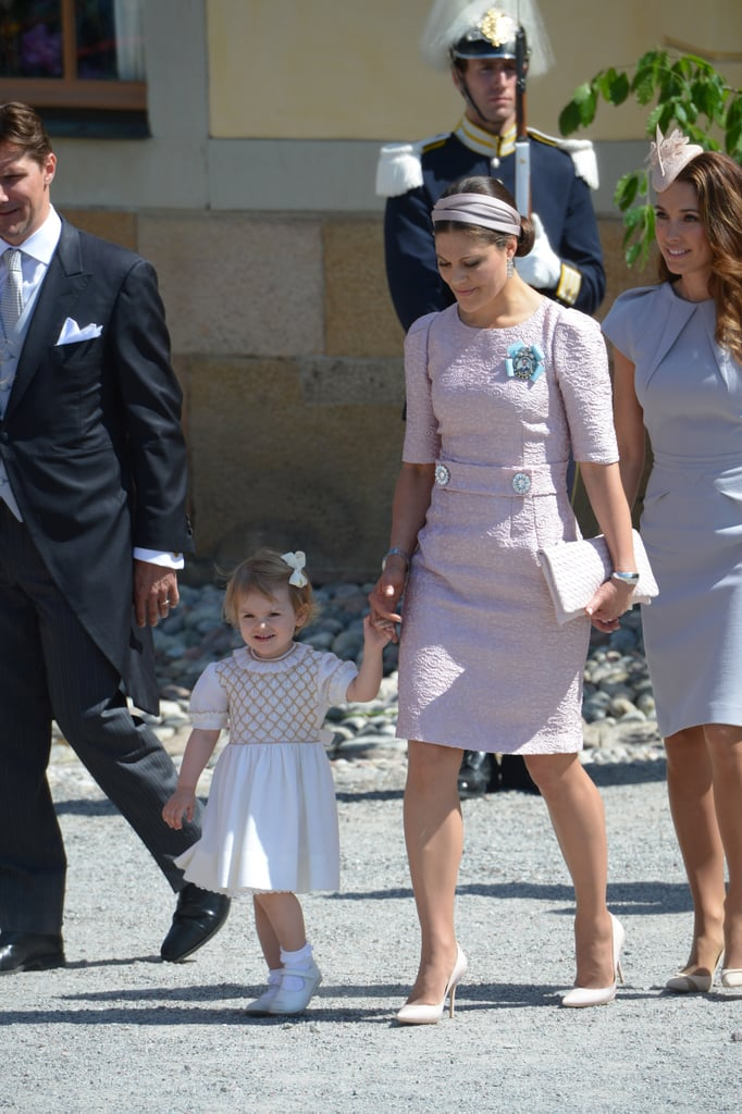 Princess Victoria Makes a Pastel Purple Headband Look Regal