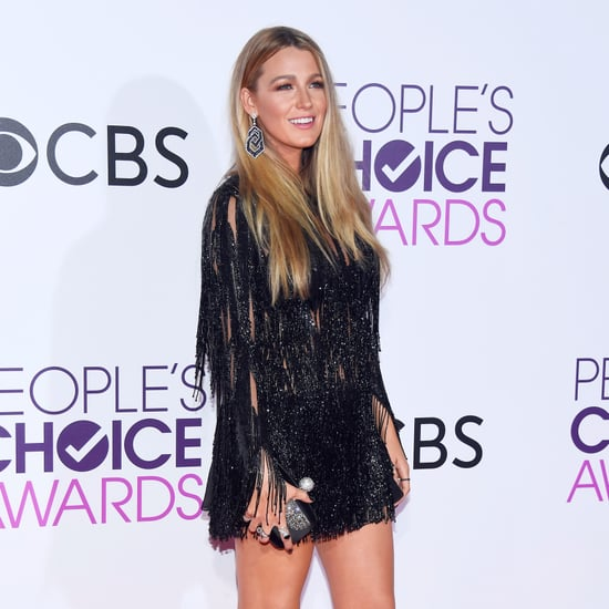 Blake Lively Elie Saab Dress People's Choice Awards 2017