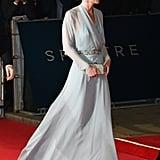Kate Middleton in Jenny Packham.