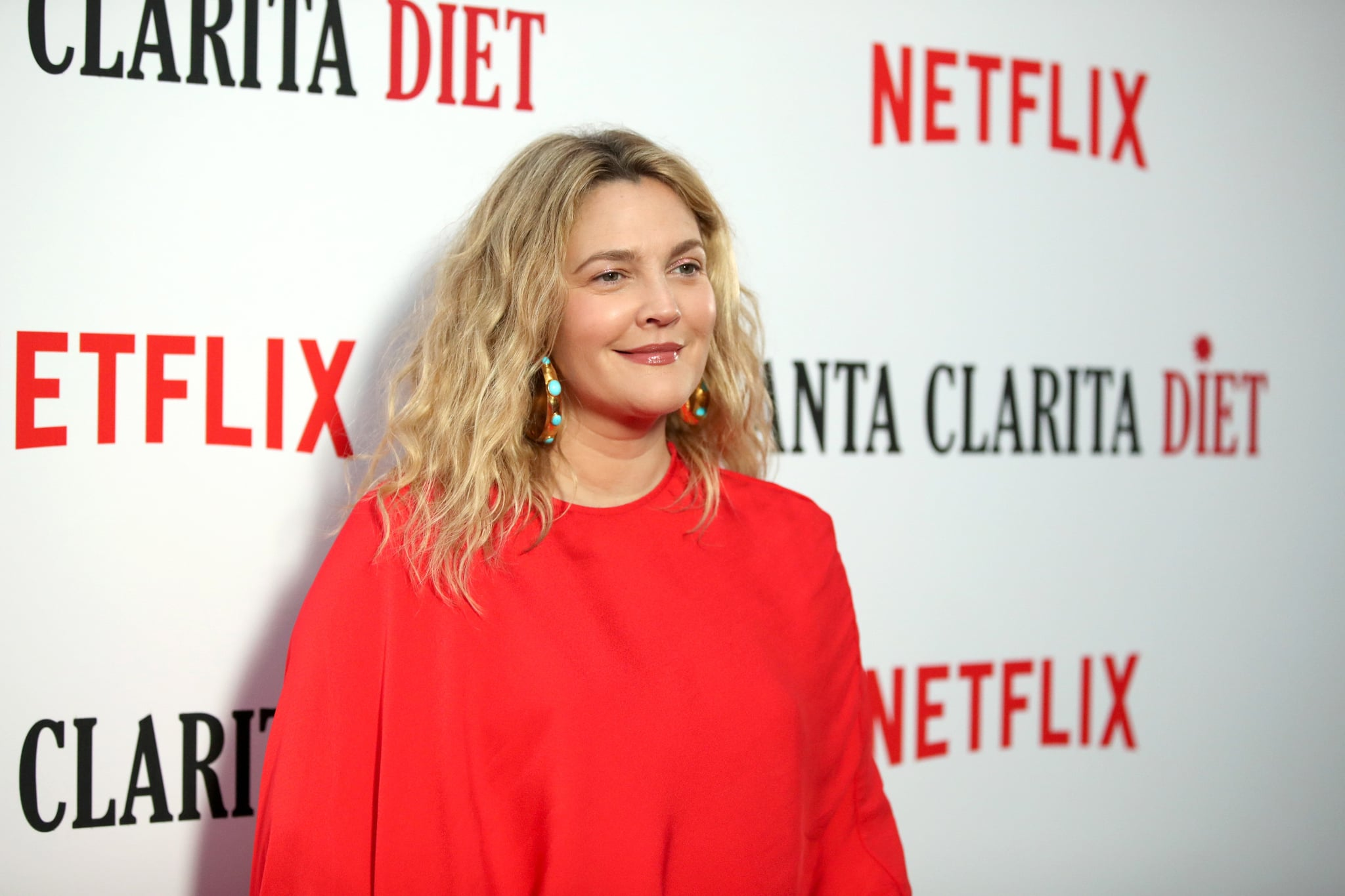 HOLLYWOOD, CA - MARCH 22:  Drew Barrymore attends Netflix's