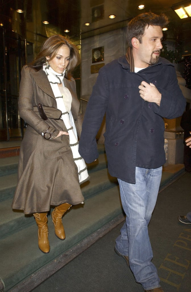 January 2004: Ben and Jennifer Officially Announce Their Breakup