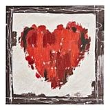 Red Heart Canvas Art