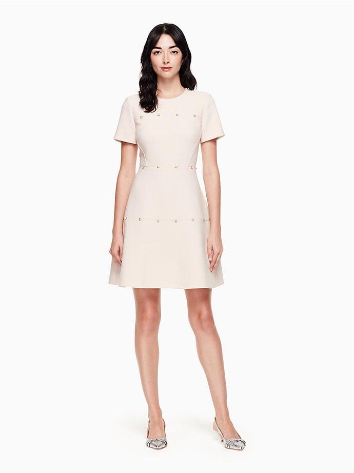 Kate Spade Embellished Crepe Dress