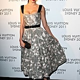 Miranda Kerr was at a party for Louis Vuitton in Sydney.
