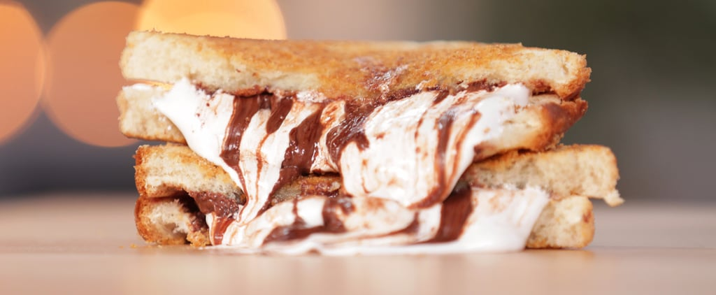 Take a Walk on the Wild Side With This S'mores Grilled Cheese
