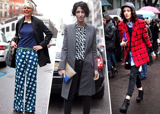 Fall 2011 Fashion Week Street Style Trend — Bold Prints