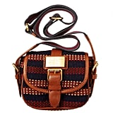 Marc by Marc Jacobs Saddlery Striped Perfect Messenger ($258)
