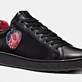 Disney x Coach C101 Sneakers With Poison Apple Graphic