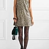 Anna Sui Twinkling Stars At Night Sequined Mini Dress