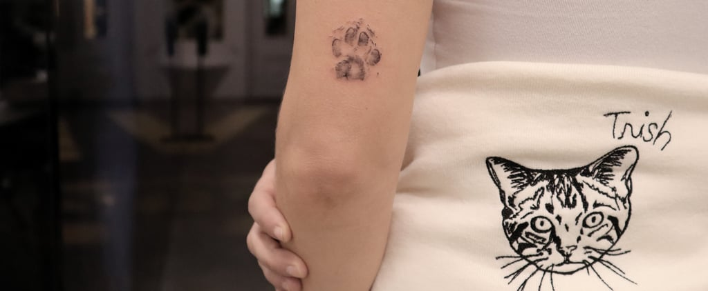 How to Get a Tattoo of Your Cat's Paw Print: See the Process