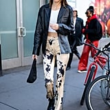 Kendall Jenner's Street Style at New York Fashion Week
