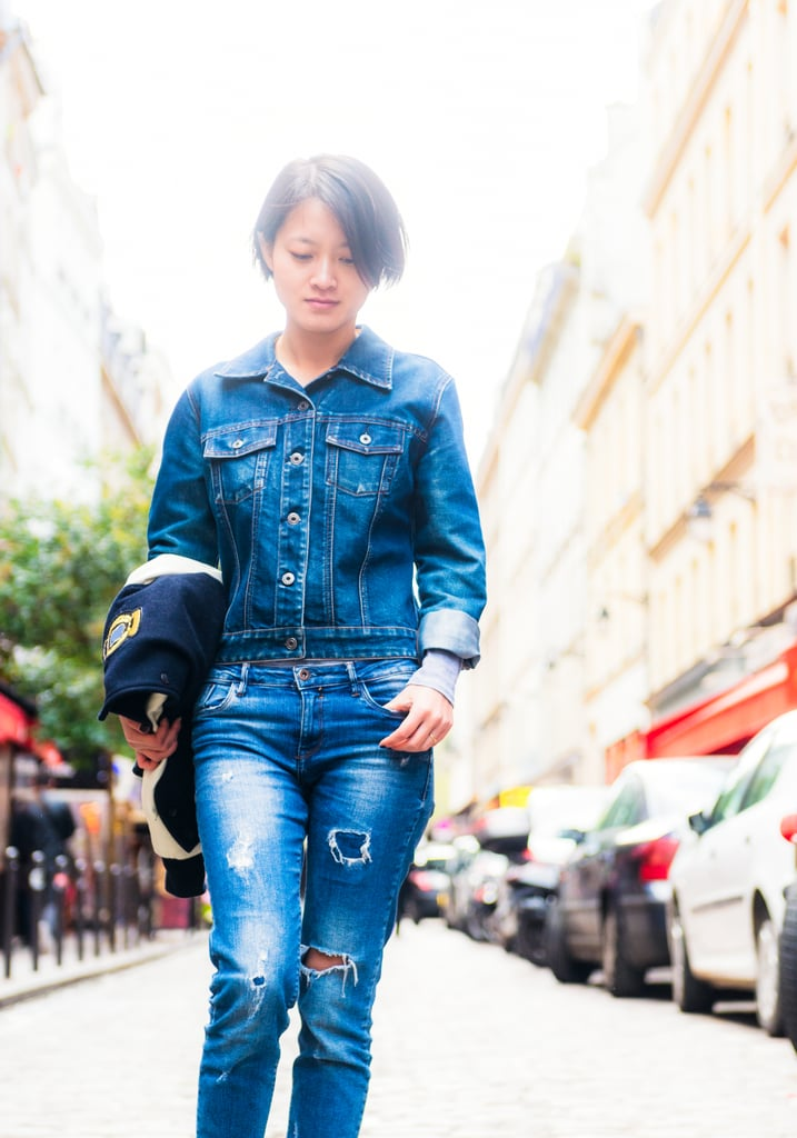 Give Your Typical Denim on Denim a Rest