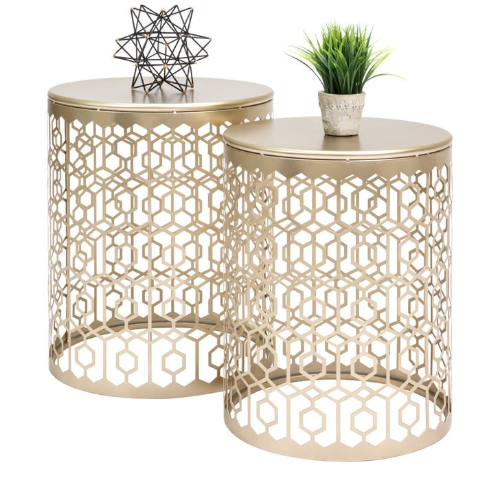 Best Choice Products Round Nesting Accent Tables Best