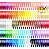 120-Pack Snap Hair Clips