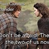 Best Outlander Book Quotes on Goodreads   POPSUGAR Love & Sex