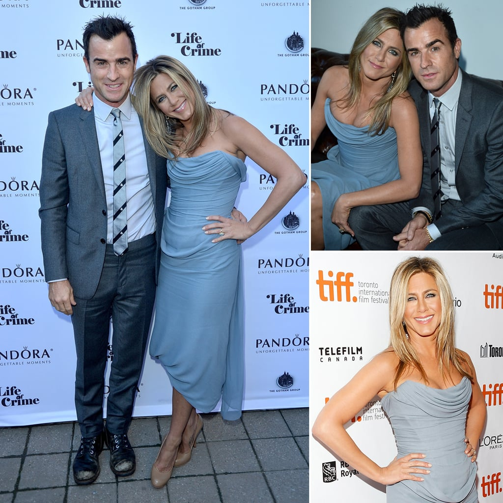 Jennifer Aniston and Justin Theroux in Toronto Pictures