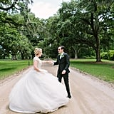 After meeting during their orientation at Disney World, ReAnne and Tyler had a fairy-tale-themed wedding in Mount Pleasant, SC. See the wedding here!