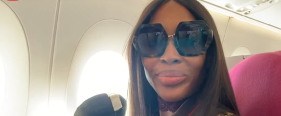 Naomi Campbell's Airport Routine Video
