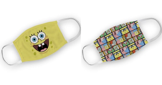 Nickelodeon Face Masks For Kids | SpongeBob Squarepants