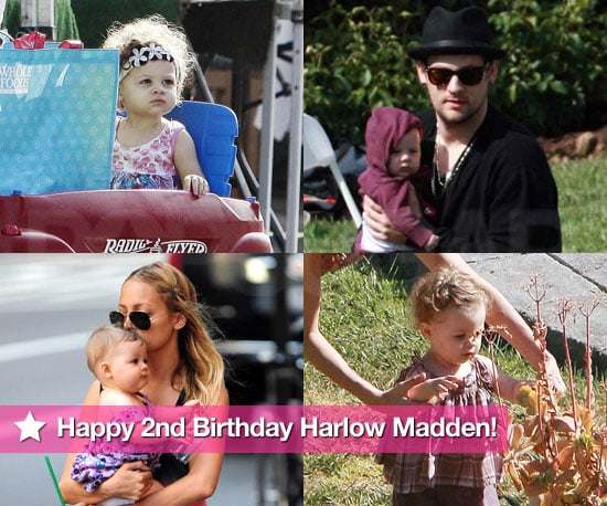 Happy 2nd Birthday Harlow Madden!