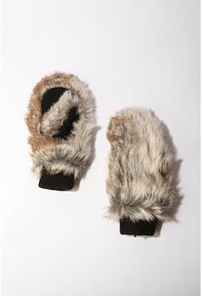 Deena & Ozzy Faux Fur Mitten ($15, originally $28)