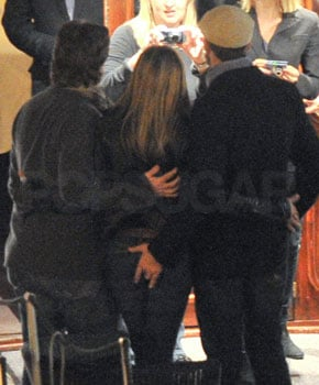 Gerard Butler and Jennifer Aniston Butt Grabbing Photo