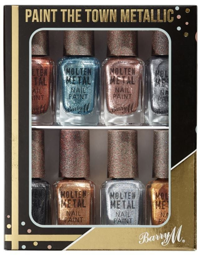 Barry m christmas nail varnish gift