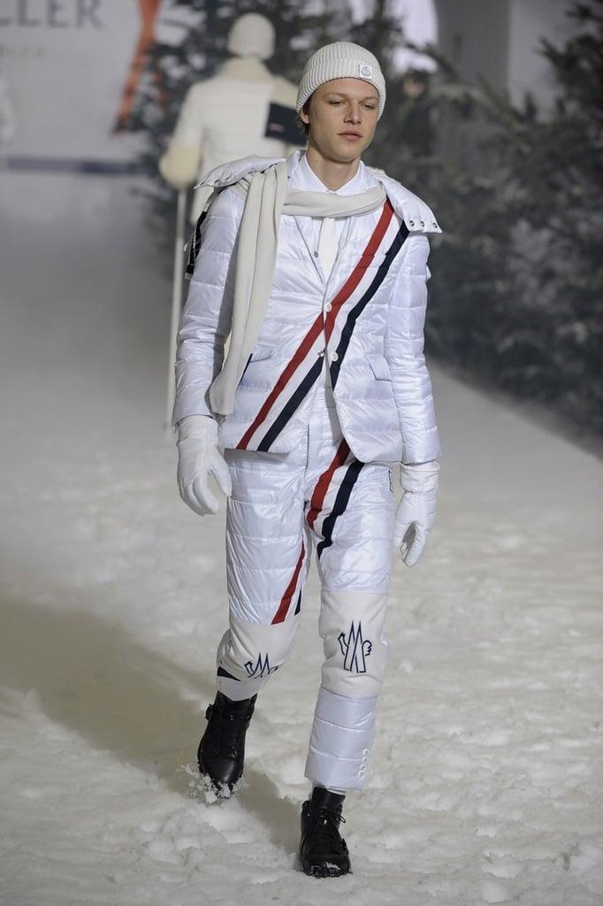 Milan: Moncler Gamme Bleu Men's Fall 2009