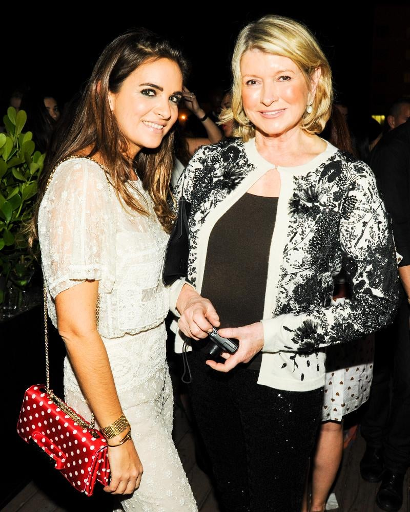 Laure Heriard Dubreuil and Martha Stewart