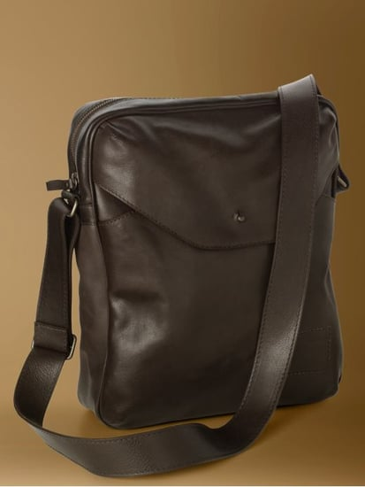 Banana Republic Leather Camera Bag