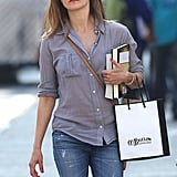 Keri Russell in NYC.