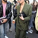 Irina Shayk's Street Style at Milan Fashion Week