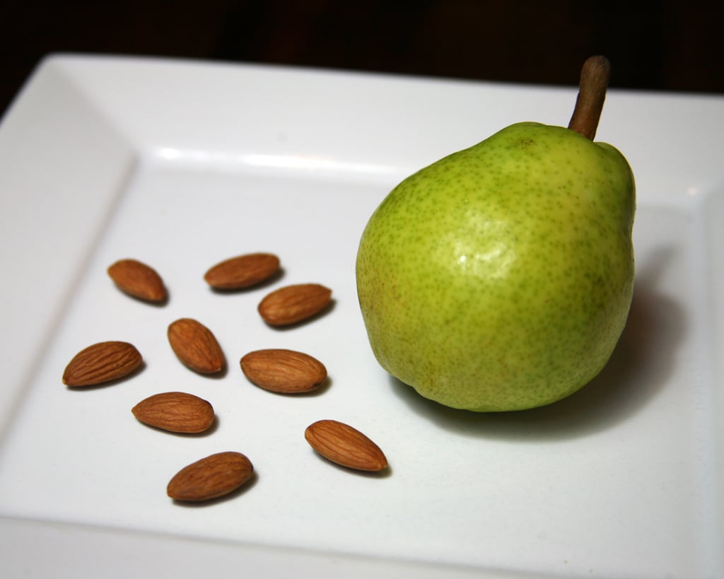Pear With Almonds