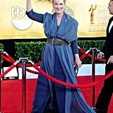 Meryl wore a Vivienne Westwood Couture gown with Fred Leighton jewels to the 2012 Screen Actors Guild Awards.