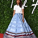 Liya Kebede at the British Fashion Awards 2019 in London