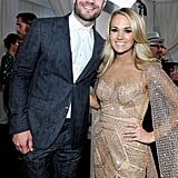 Sam Hunt and Carrie Underwood Posing For a Country Powerhouse Photo