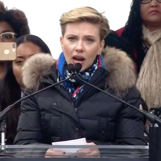 Scarlett Johansson Speech Women's March on Washington 2017