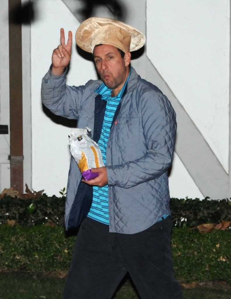 Adam Sandler as a Pizza Chef | Celebrity Halloween Costumes 2016 ...
