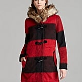 The bold colors on this BB Dakota Buffalo Plaid Coat ($130) are just enough to make a statement, not too much to overpower your outfit.