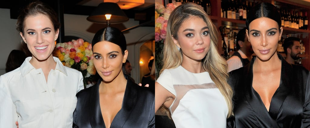 Kim Kardashian Joins Hollywood's It Girls For a Picture-Perfect Party