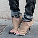 These Balenciaga heels have both cool-girl edge and a bit of a sultry factor. Source: Adam Katz Sinding