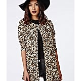 Missguided Leopard Print Jacket