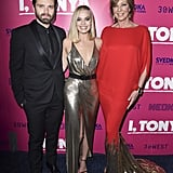 Margot Robbie and Tonya Harding at I, Tonya Premiere Photos