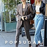 Hailey Bieber and Stylist Maeve Reilly Out in LA