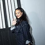 Rihanna Neon Green Nail Polish