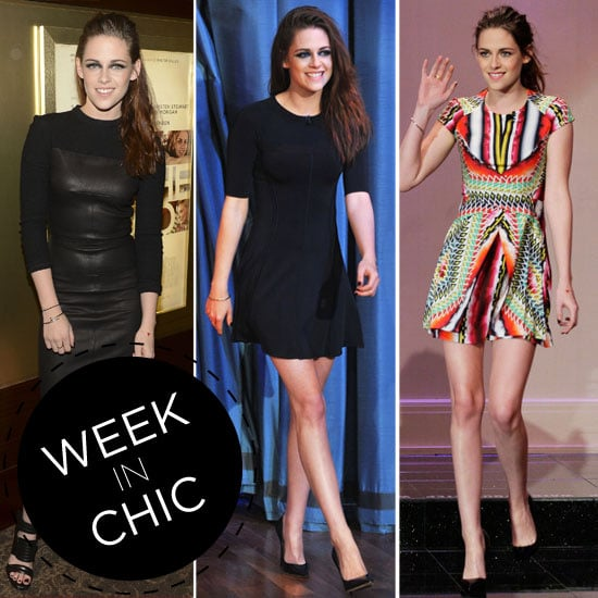 A Week in Chic: Kristen Stewart