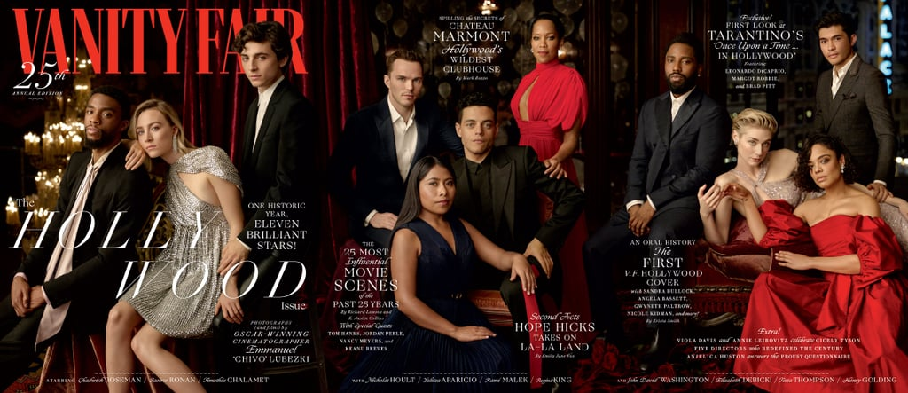 Vanity Fair's 25th Annual Hollywood Issue Shows a Beautifully Diverse Vision of Hollywood