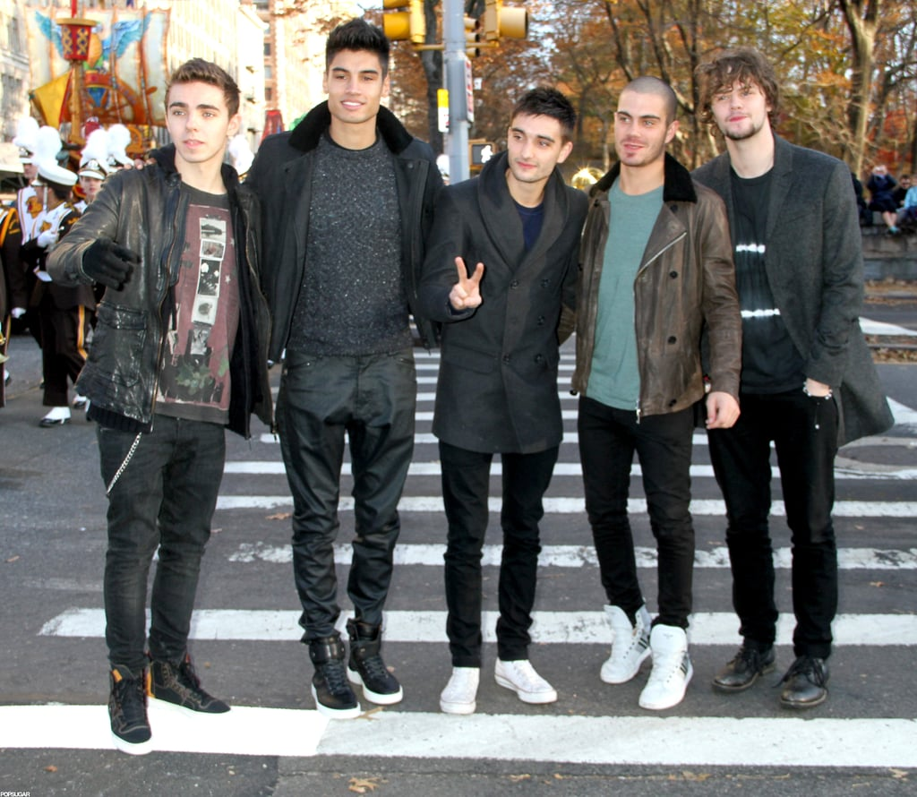 The guys of The Wanted attended the Annual Macy's Thanksgiving Day Parade in NYC.
